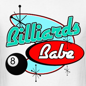 Billiards Babe - Men's T-Shirt