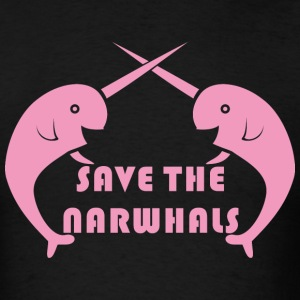 save the narwhals T-Shirts - Men's T-Shirt