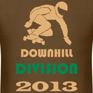 Longboard Action Teamrider Downhill Division T-Shirts - Men's T-Shirt