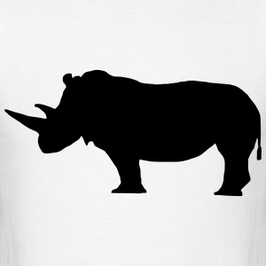 Rhinoceros T-Shirts - Men's T-Shirt