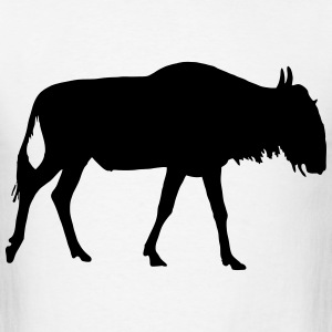 Blue wildebeest T-Shirts - Men's T-Shirt