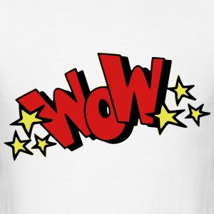 Wow! T-Shirts - Men's T-Shirt