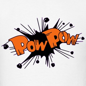 Pow Pow! T-Shirts - Men's T-Shirt