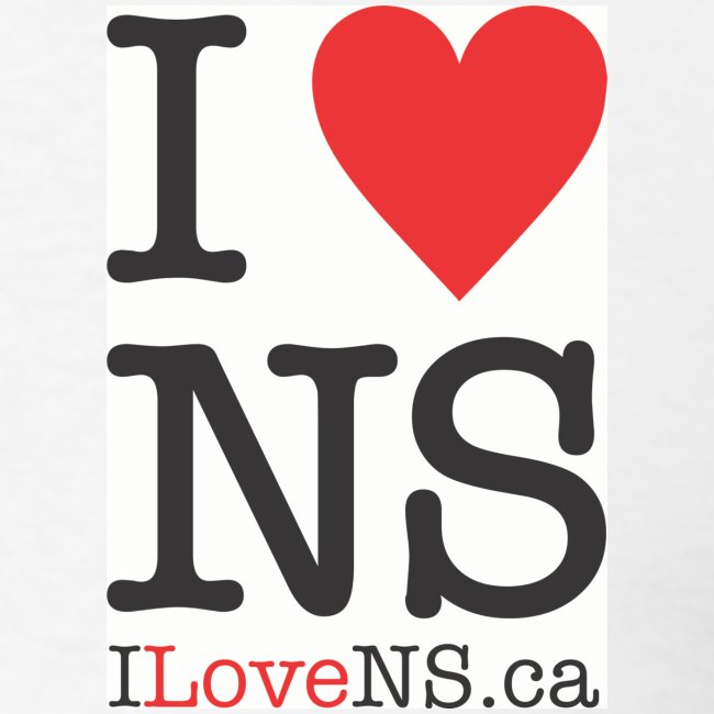Nova Scotia Webcams Fan Shop I Love Ns Mens T Shirt Mens T Shirt