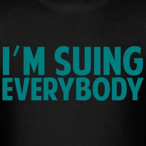 i'm suing everyone AMANDA BYNES QUOTE T-Shirts - Men's T-Shirt