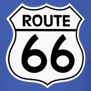Route 66 - Men's T-Shirt