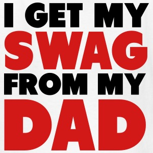 I Get My Swag From My Dad Shirt Kids' Shirts - Kids' T-Shirt