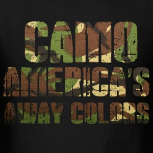 camo americas away colors - Men's T-Shirt