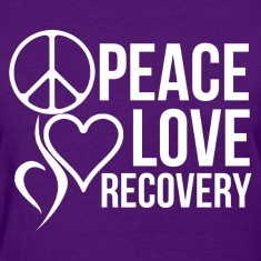 peace love recovery