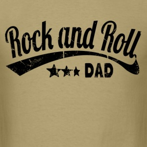 rock and roll dad - Men's T-Shirt