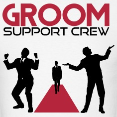 Groom Support Crew T-Shirts