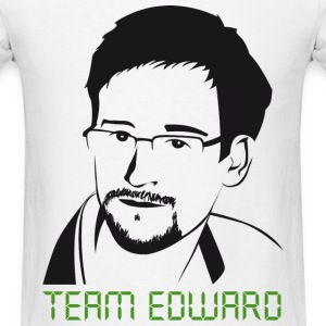 Edward Snowden: Team Snowden T-Shirts - Men's T-Shirt
