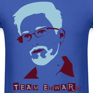Edward Snowden T-Shirts - Men's T-Shirt