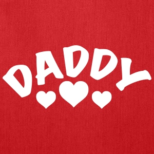 Daddy / I love my Daddy / Dad 1c Bags & backpacks - Tote Bag