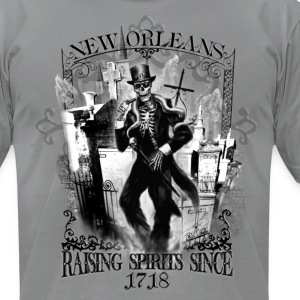 Haunted New Orleans T-shirt - Men's T-Shirt by American Apparel