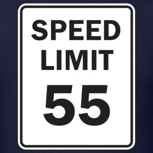 Speed Limit - Men's T-Shirt