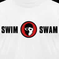 Design ~ SwimSwam Classic Men's American Apparel (White)