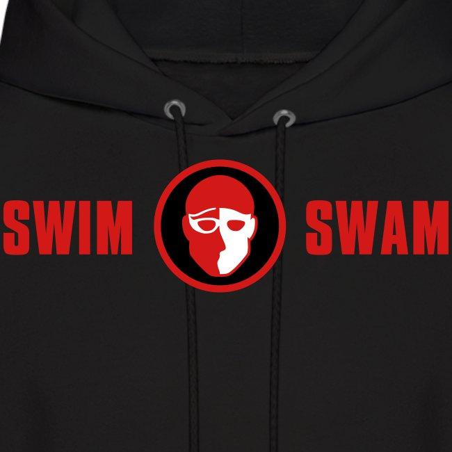 SwimSwam Classic Men's Hoodie (Black)