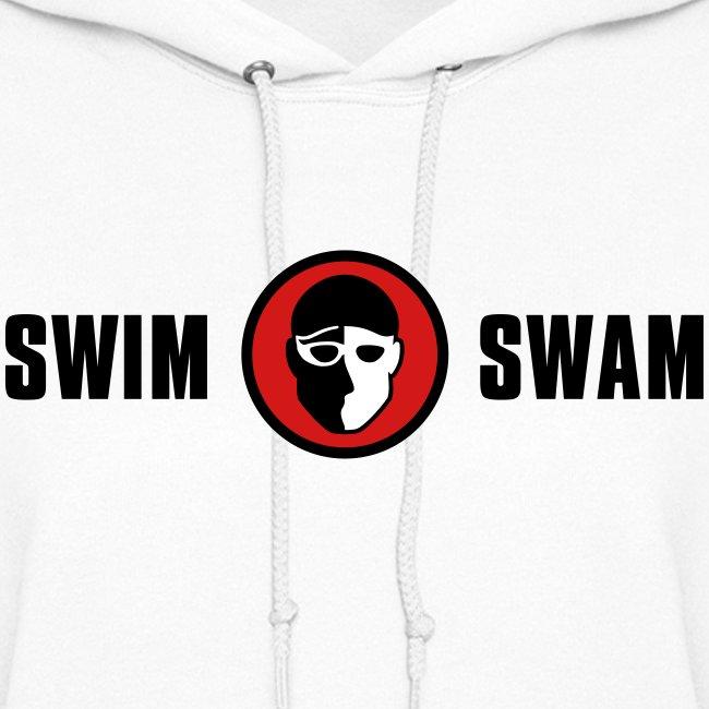 SwimSwam Classic Women's Hoodie (White)