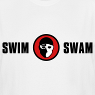 Design ~ SwimSwam Classic Men's Tall Tee (White)
