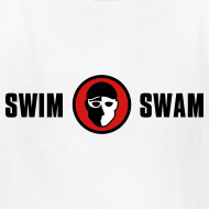 Design ~ SwimSwam Classic Kid's Tee (White)