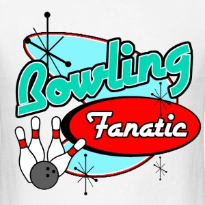 Bowling Fanatic - Men's T-Shirt