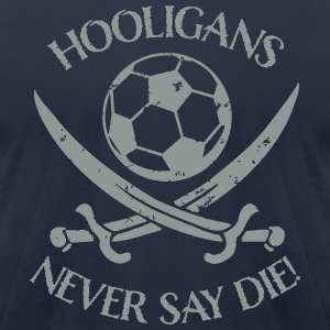 Hooligans T-Shirts - Men's T-Shirt by American Apparel
