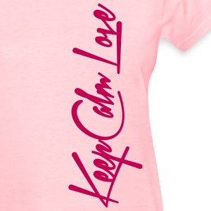 Keep Calm and Love Women's T-Shirts - Women's T-Shirt