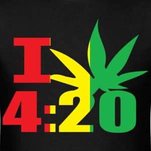 I Smoke 4:20 - Men's T-Shirt