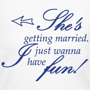 she is getting married Long Sleeve Shirts - Women's Long Sleeve Jersey T-Shirt