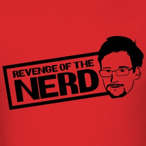 Revenge of the Nerd - Snowden T-Shirts - Men's T-Shirt