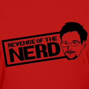 Revenge of the Nerd - Snowden Women's T-Shirts - Women's T-Shirt