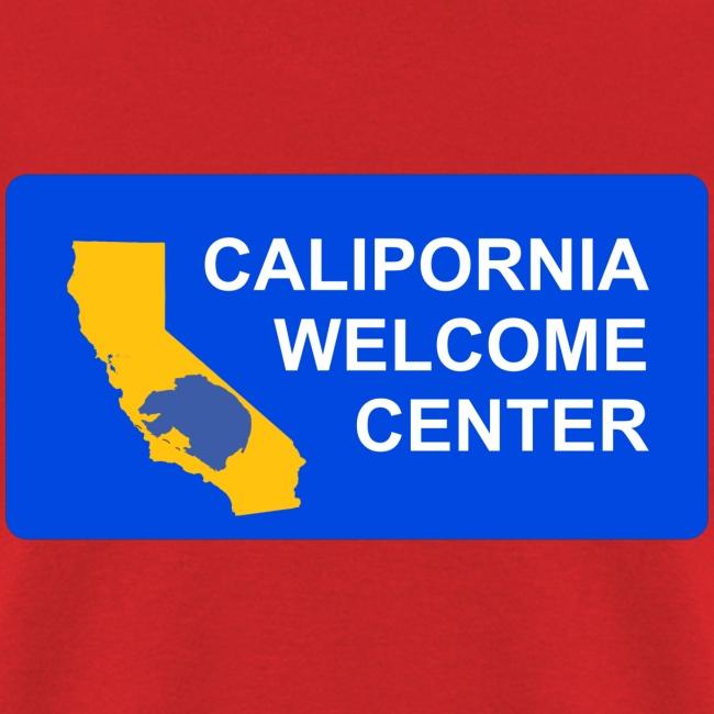CaliPORNia welcome center