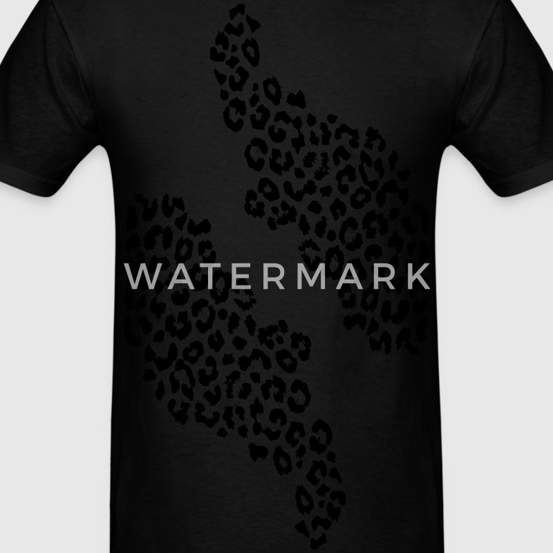 Dark Warrior Ultimate tee leopard print - Men's T-Shirt