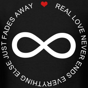 Real Love Never End - Men's T-Shirt