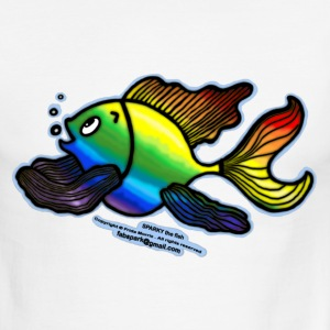 Rainbow Fish - Men's Ringer T-Shirt