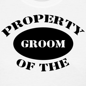 Just Married Property of The Groom T-Shirt - Women's T-Shirt