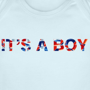 Royal Baby Boy - Short Sleeve Baby Bodysuit