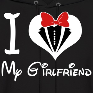 I LOVE My GirlFriend (M) - Men's Hoodie