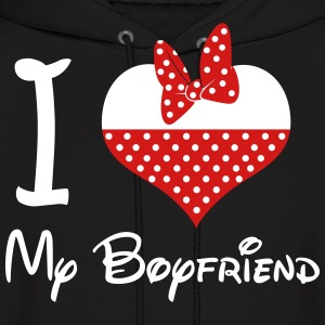 I LOVE My BoyFriend (M) - Men's Hoodie