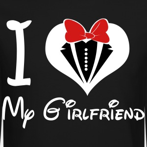 I LOVE My GirlFriend (M) - Crewneck Sweatshirt