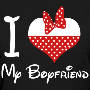 I LOVE My BoyFriend (M) - Women's T-Shirt