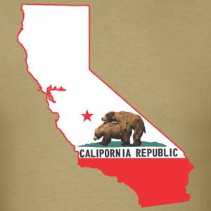 calipornia_state_outline T-Shirts - Men's T-Shirt