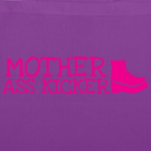 Mother ass kicker with a boot Bags & backpacks - Tote Bag