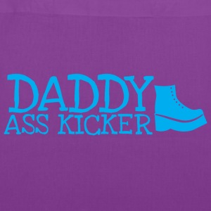Daddy ass kicker with a boot Bags & backpacks - Tote Bag