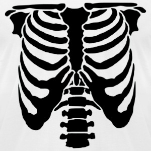 Rib Cage T-Shirts - Men's T-Shirt by American Apparel