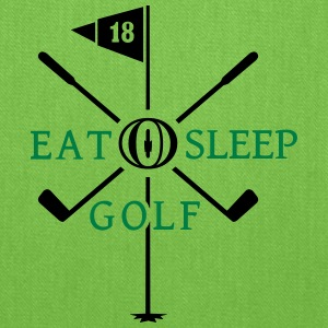 eat sleep golf (2c) Bags & backpacks - Tote Bag