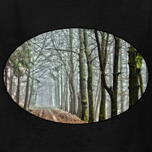 Forest - Nature - Park - Trees - Rural - Dirt Road Kids' Shirts - Kids' T-Shirt