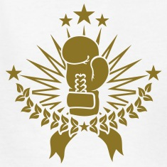 boxing champion (1c) Kids' Shirts