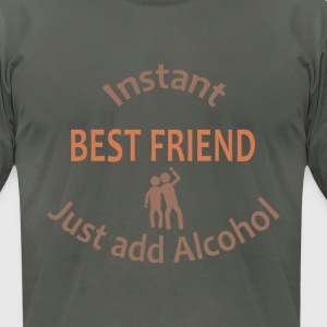 Instant Best Friend - Men's T-Shirt by American Apparel